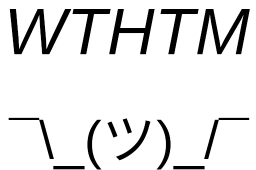 WTHTM Logo